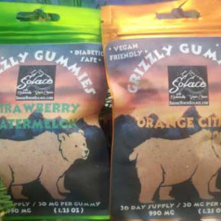 CBD Gummies - Grizzly Gummies